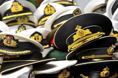 #adult #conference #hats #maritime #meeting #nautical #naval #officer #representatives #symposium #table #uniform