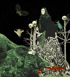 """""""Baba Yaga"""" by Tin Can Forest (Marek Colek and Pat Shewchuk)"""