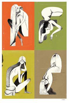 Julianna Brion Pin-up series