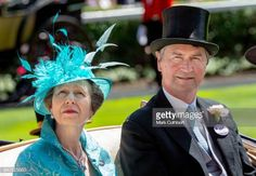 Princess Anne Princess Royal and Timothy Laurence attend Royal Ascot Day 3 at Ascot Racecourse on June 21 2018 in Ascot United Kingdom