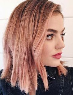 If you're thinking for sport some kind of new and fresh hair colors with medium hairstyles then you've to follow our best suggestions of pink hair colors for medium haircuts in 2018. Pink is one of the best hair colors for ladies to use especially with long, medium, short and bob length haircuts in these days.