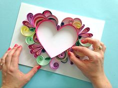 Comment faire facile Quilling - Comment faire facile Quilling The Effective Pictures We Offer You About diy projects A quality pic - Quilled Paper Art, Paper Quilling Designs, Quilling Paper Craft, Quilling Patterns, Paper Crafts, Quilling Ideas, Quilling Jewelry, Paper Beads, Paper Flower Art