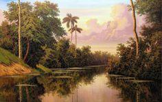 Resultado de imagen para arte pintura paisajes