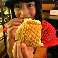 Tasting taiyaki in Japan, a street food you shouldn't miss trying! - Pint Size Gourmets