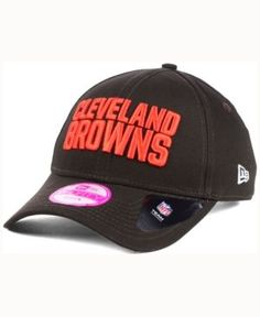 New Era Women's Cleveland Browns Glitter Glam 2.0 9FORTY Cap - Brown Adjustable