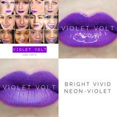 Violet Volt LipSense is back!