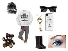 """""""Rachel stays at the cave for a night"""" by cheerfulness1998 ❤ liked on Polyvore featuring Ideology, UGG Australia, Samsung, River Island, women's clothing, women, female, woman, misses and juniors"""