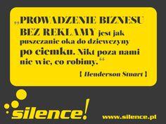 #reklama, #marketing, http://www.silence.pl