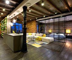 Exemple d'aménagement loft Plus