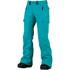 Snowboarding Pants -- um yes please, in this color!!