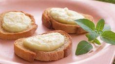 Brusqueta de queijo