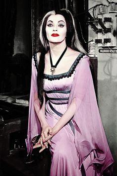 "vintagegal: "" Yvonne De Carlo as Lily Munster c. 1960s """