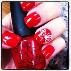 Valentines day nails 2013 <3