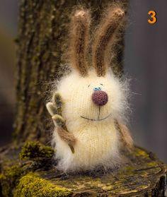 Купить Пасхальный кролик, вязаные игрушки зайцы амигуруми - бежевый, кролик, вязаные заицы