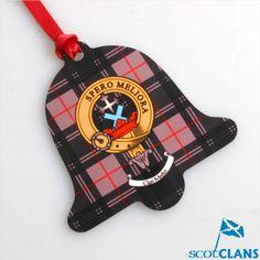 Clan Crest Christmas Ornament