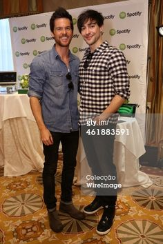 Fotografia de notícias : Actors Tom Riley and Blake Ritson attend the HBO... #leario
