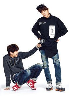 BTOB Ilhoon + Minhyuk