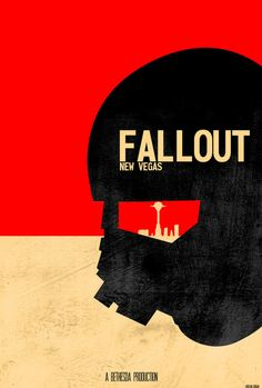 Fallout New Vegas Ranger minimalist poster