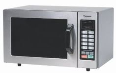 """Panasonic NE-1054F """"NSF"""" Approved 0.8 cuft Stainless Steel Commercial Microwave Oven, 1,000 Watts and Touch Control Keypad -   - http://homesegment.com/home-kitchen/panasonic-ne1054f-nsf-approved-08-cuft-stainless-steel-commercial-microwave-oven-1000-watts-and-touch-control-keypad-com/"""