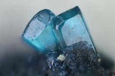 Caledonite, Pb5Cu2(SO4)3(CO3)(OH)6, Clara Mine, Rankach valley, Oberwolfach, Wolfach, Black Forest, Baden-Württemberg, Germany. Fov 1.11 mm. Copyright © Michael Förch