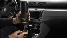 Handpresso Auto, votre expresso dans votre voiture.