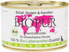 Aus der Kategorie Probiotika  gibt es, zum Preis von EUR 5,94  Schaf, Nudeln & Karotten 400g BioPur<br>Hund - Bio-Kontrollstelle des Herstellers - DE-Öko-006 - Haltbarkeit nach Öffnen - Nach dem Öffnen 2-3 Tage im Kühlschrank haltbar. - Hersteller - Waseba GbR - Lagerung - Kühl und Trocken lagern. - Futterdaten - Zusammensetzung - Karotten (30%), Schafmuskelfleisch (17,5%), Weizennudeln (13%), Weizenvollkornmehl , Schafleber , Sonnenblumenöl , Mineralien aus kontrolliert biologischem Anbau…