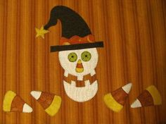 Mr Halloween Applique PDF Pattern for Tea by quiltdoodledesigns, $2.00