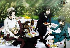 Ciel & Sebastian & Alois & Claude