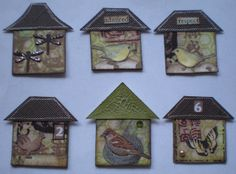 What about INCHIE BIRD HOUSES?? More inchie houses | Flickr - Photo Sharing!