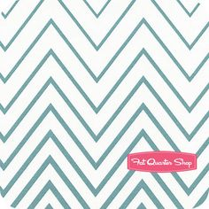 Simply Style Aquatic Blue Zig Zag Ombre Yardage SKU# 10813-18 - Fat Quarter Shop