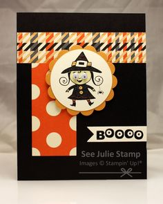 FMS55 Stampin' Up! Googly Ghouls