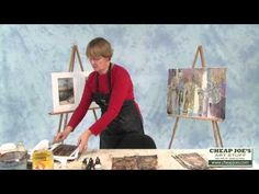 ▶ Cathy Taylor-Altered Papers Pt 2- Altered Paper Options - YouTube-