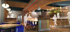 Copper Crown - Rendering || Form & Function Architecture || Restaurant || Asheville NC