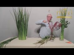 Vídeo Aula 001 - Arranjo Floral Rústico - YouTube