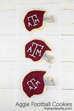 Texas A&M homemade cookies