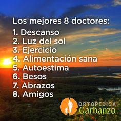 ¡Los 8 mejores doctores en la vida! En Ortopedica Garbanzo nos preocupamos por su bienestar! Tels: 4030-3763/ 2223-8235. www.ortopedicagarbanzo.com info@ortopedicagarbanzo.com