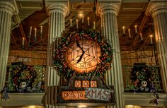 Days to Xmas. What a great clock.