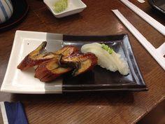 Unagi and engawa at sushiden