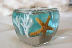 Ocean Gel Candle