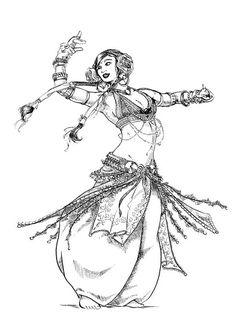 Belly_Dancer_by_chibi_dj (491x697, 158Kb)