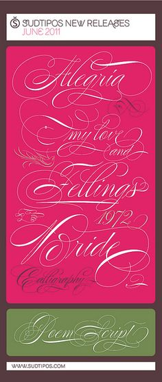 New release from Studipos...my favorite foundry! Might need this one for Christmas card season!
