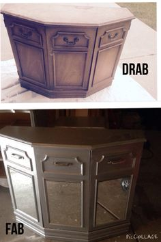 $5 cabinet table >>>$50