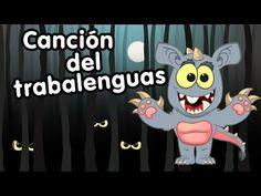 Canción Trabalenguas del Murcielago y el Chupa Cabra - Canciones infantiles - YouTube