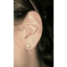 double pierced ears is what I have now. I want one more piercing on my cartilage and then I'm done. I think. Maybe I'll get more idk lol.