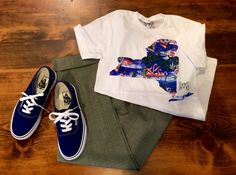 2015 S/S LOST WEEKEND NYC Tshirt THE SHINZONE Cropped Pants VANS AUTHENTIC
