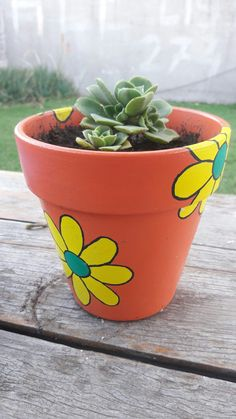 Clay Flower Pots, Flower Pot Crafts, Clay Pot Crafts, Clay Pots, Flower Pot People, Clay Pot People, Painted Plant Pots, Painted Flower Pots, Flower Pot Design