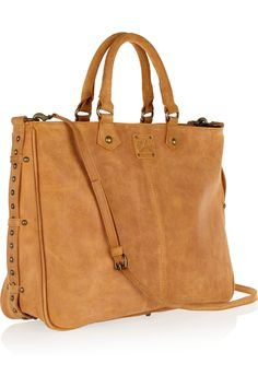 Cervia suede tote by Sara Berman.  I SO want this!