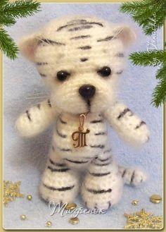 amirugumi: crochet tiger