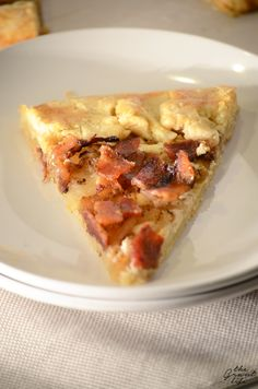 life bacon and onion tart bacon onion tart filled with crisp bacon ...