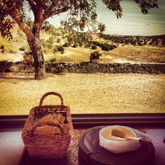 My Secret Place: Herdade do Vau, Alentjo, Portugal * A breakfast with a view - and that delicious Serpa cheese